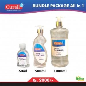 Curell - Instat Hand Sanitizer Bundle Packages