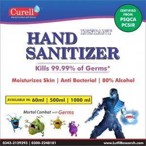 Curell - Instant Hand Sanitizer