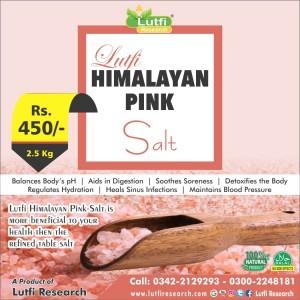 Lutfi HIMALAYAN PINK Salt